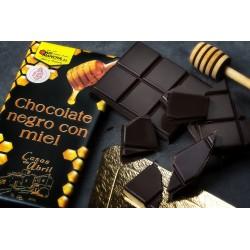 CHOCOLATE NEGRO CON MIEL