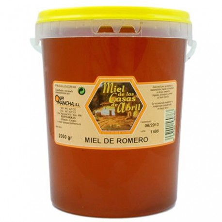 2KG MIEL ROMERO CASAS DE ABRIL ( CAJAS DE 6 UNIDADES )