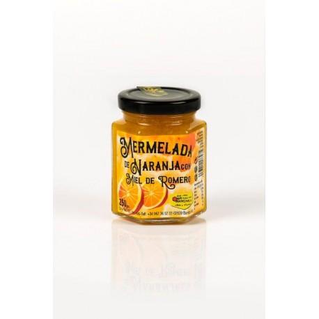 Mermelada de naranja con miel de romero